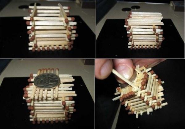 Как сделать домик из спичек самостоятельно?