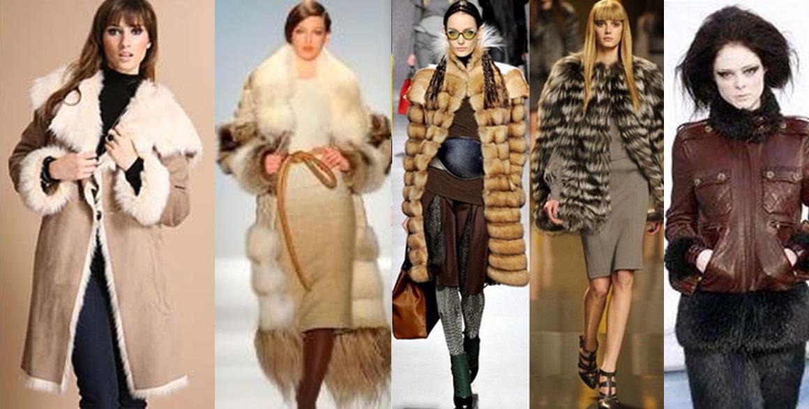 Коричневый цвет в моде зимой