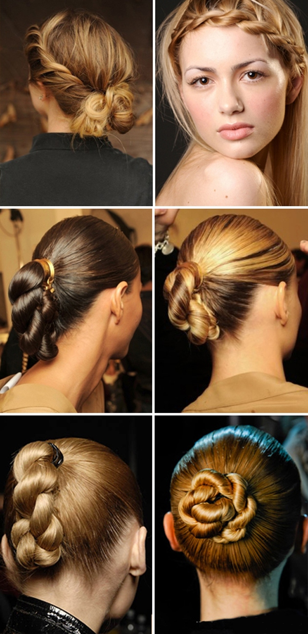 Косы на длинные волосы - деловые