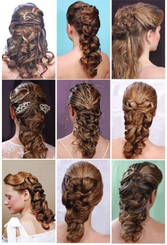 Косы на длинные волосы - ажурный вариант