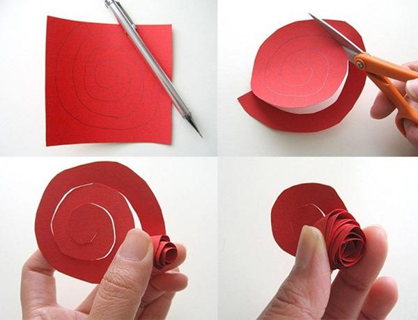 Как сделать розы из салфетки своими руками
