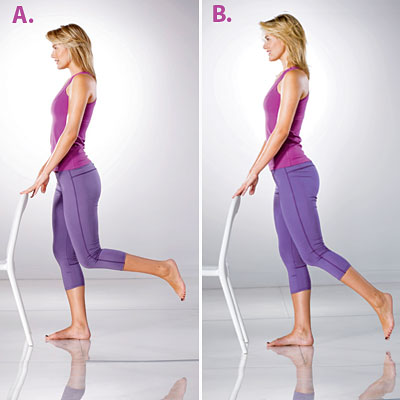 Упражнения с махами ногами