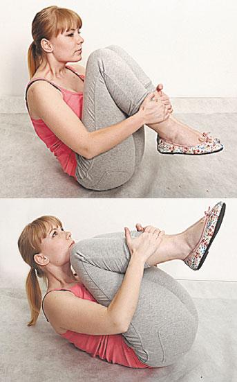 Упражнения качели