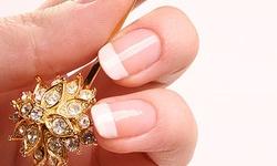 Красивые рисунки на ногтях: французский маникюр