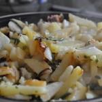 как готовить свежий папоротник орляк