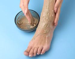 Ванночки для ног от растрескивания