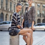 Позы для фотосессии на улице летом в городе