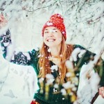 Фотосессия на улице зимой интересные позы