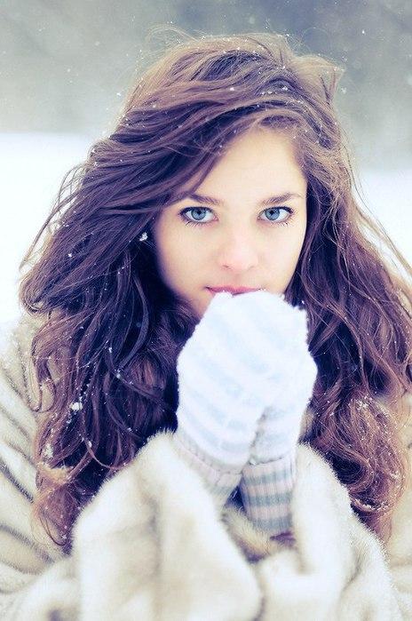 Идеи фото на улице зимой