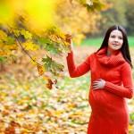 позы для беременных на улице