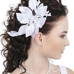 Прическа на средние волосы свадебная мастер класс