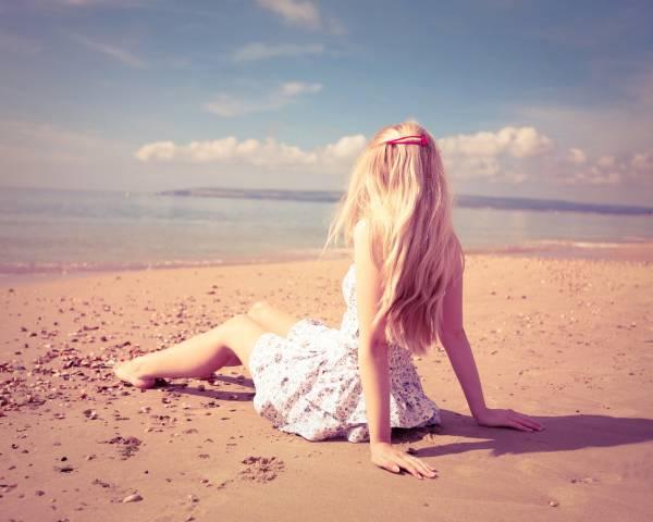 Фотосессии на море в платье фото