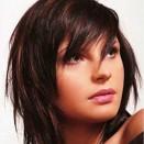 стрижки для круглого лица на средние волосы