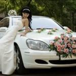 чем украшают свадебную машину